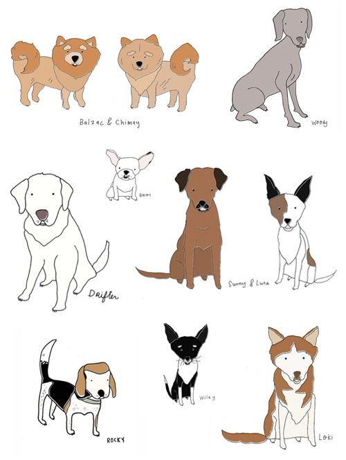 Cute dog drawings tumblr - photo#4